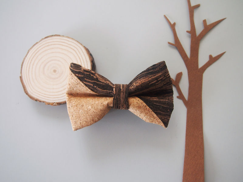 Mixed Cork Mens Bowtie - product images  of