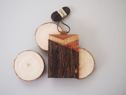 Mixed,Cork,Badge,Holder,with,Lanyard,cork, Badge Holder