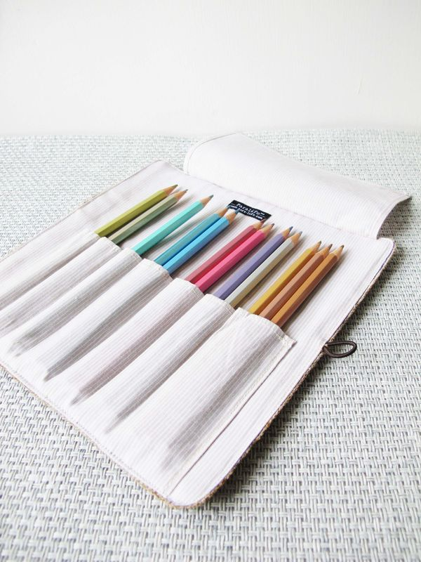 Grass woven pencil pouch (custom made size) - product images  of