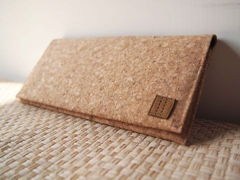 Cork,Long,wallet