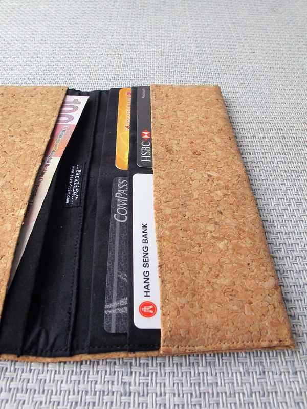 Cork Long wallet - product images  of
