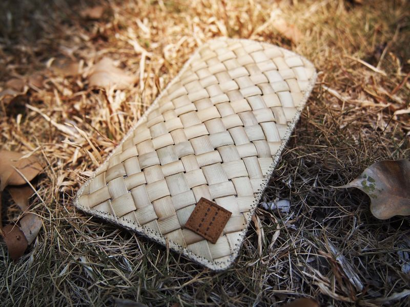 Coconut leave phone sleeve (custom made for any model) - product images  of