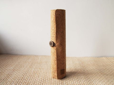 Cork,pencil,pouch