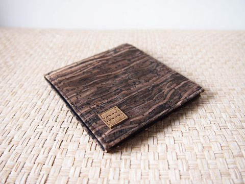 Wooden,grain,cork,wallet