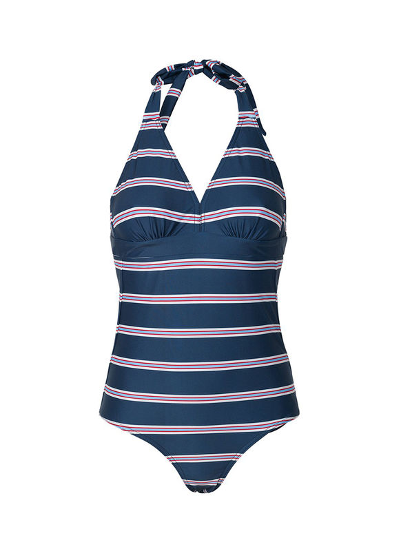 Mads Norgaard Vita Sanni Swimsuit Navy - product images  of
