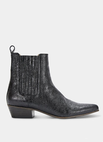 Ivylee,Bailey,Boot,-,Metallic,Black,Ivylee Bailey Boot - Metallic Black