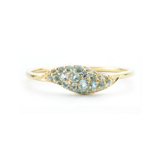 Flow Topaz Ring - product images  of