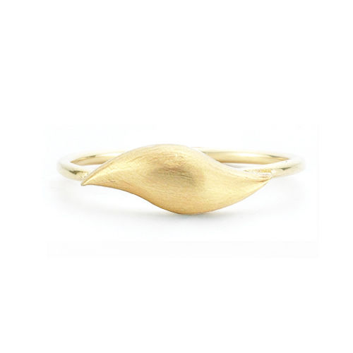 Flow Brushed Gold Ring - product images  of
