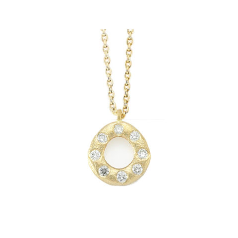 Oval,Diamond,Necklace