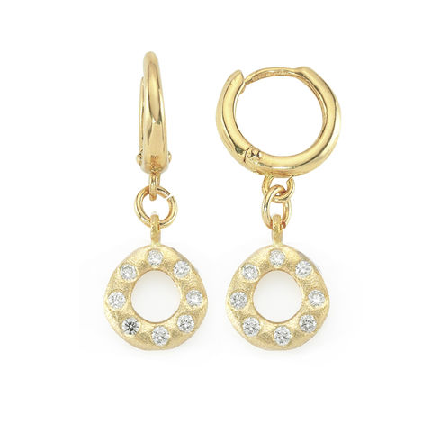 Oval,Diamond,Earrings