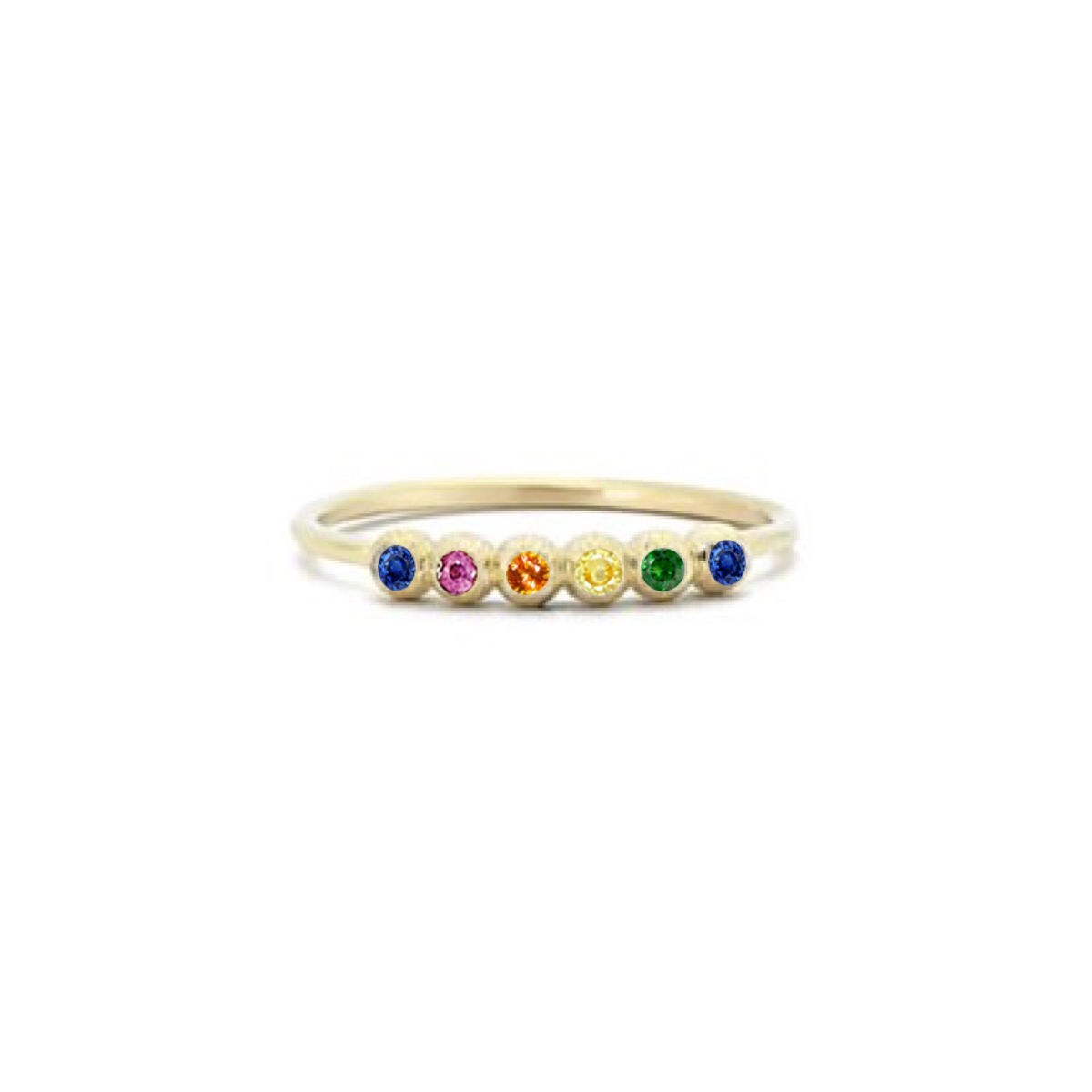 Rainbow Bubble Ring - product image