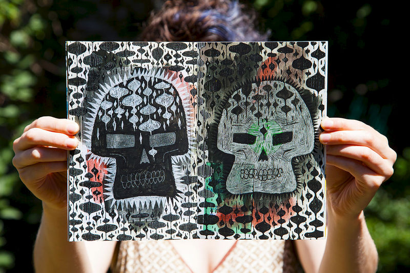 Skulls of Ultimate Death Zine - product image