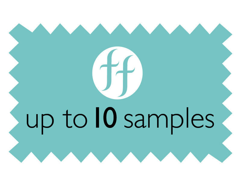 Up to 10 overseas samples - product images