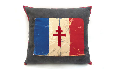 French,Flag,F,Cushion,Cover,24