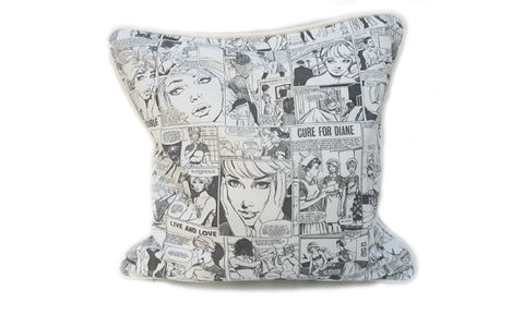 Comic,Strip,Cushion,Cover,18