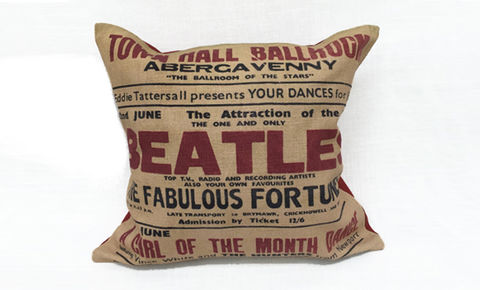 Beatles,Cushion,B,Cover,16