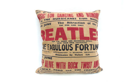 Beatles,Cushion,C,Cover,16
