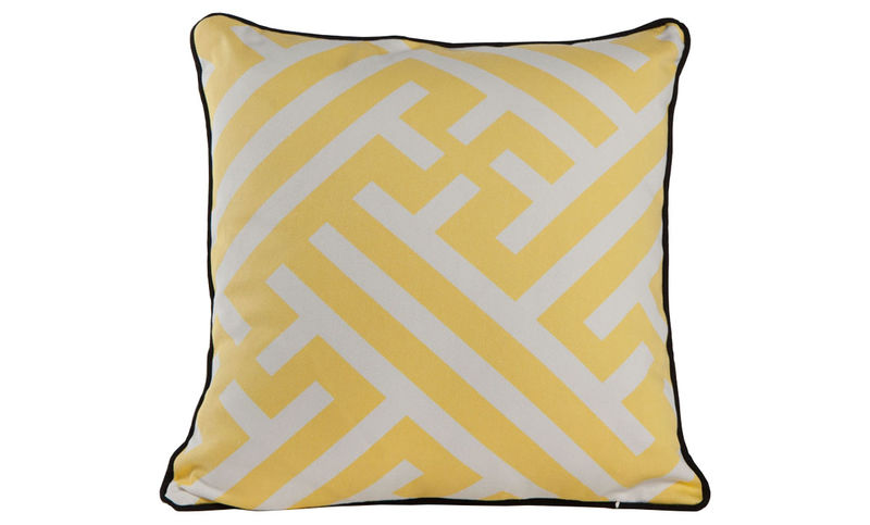 "Grand Bhutan Lattice Citron Cushion Cover 18"" - product images  of"