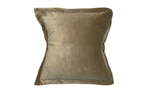 Kelly,Hoppen,Style,Velvet,Cushion,Cover,Caramel