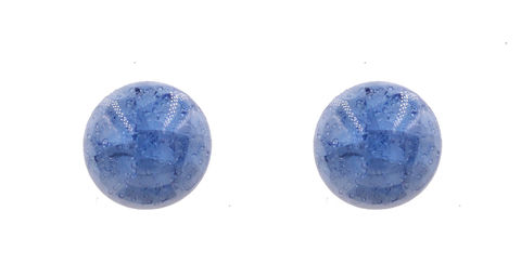 Handmade,Ceramic,Round,Circle,Crackle,Effect,Button,Stud,Earrings,in,Ocean,Blue,-,Geometric,Minimalist,Hypoallergenic,Handmade Ceramic Round Circle Crackle Effect Button Stud Earrings in Ocean Blue  - Geometric Minimalist - Hypoallergenic