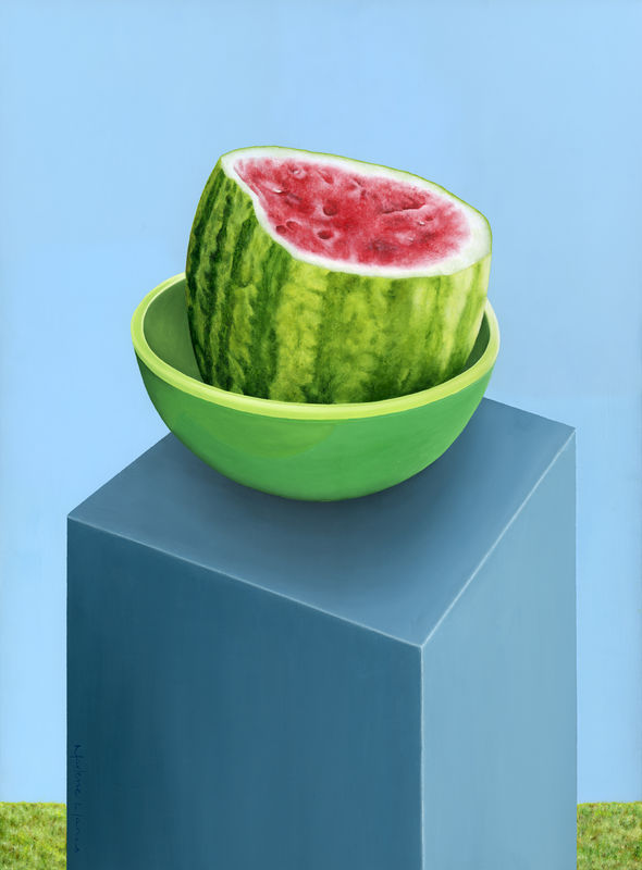 Watermelon on a Stand (original) - product images