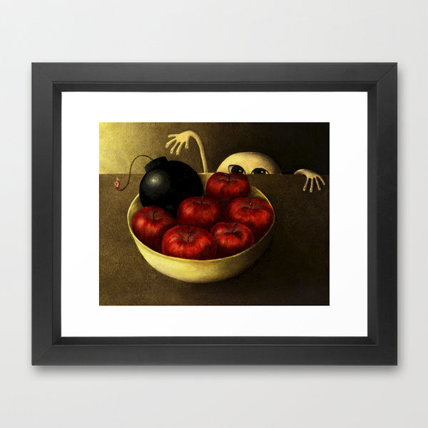 framed art prints from society6.com/MarleneLlanes (starting at $35) - product images