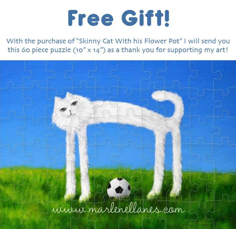 Skinny Cat (original $430 plus free gift!) - product images  of