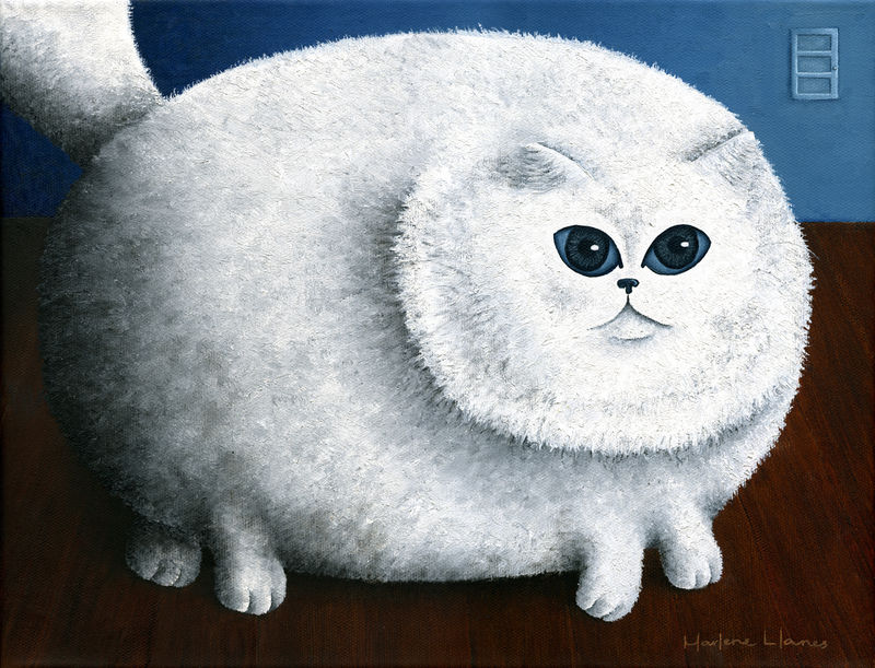 Fat Cat (prints start at $26) - product images  of