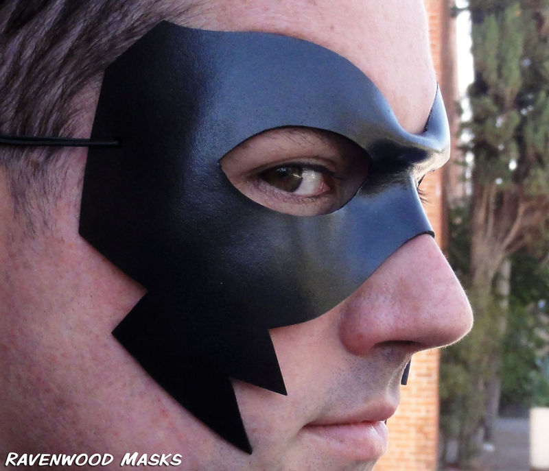 Crow - leather mask - product images  of