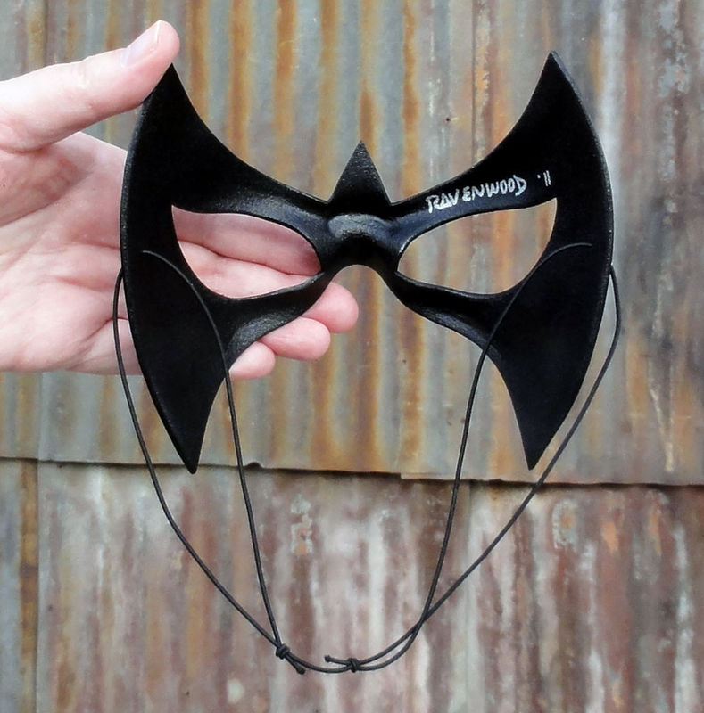 Nightfall - leather superhero mask - product images  of