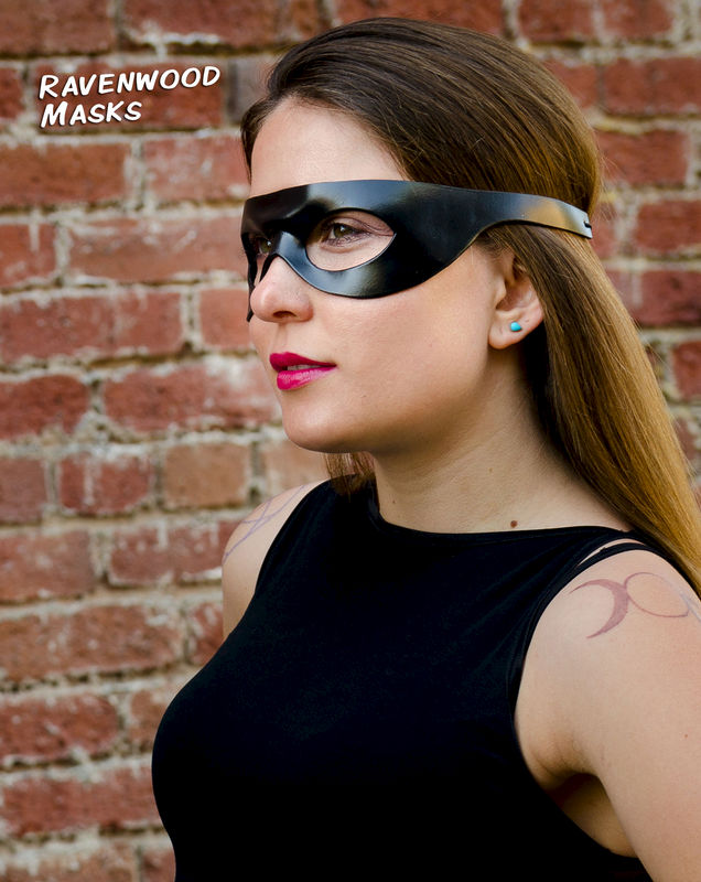 Sidekick - leather cosplay mask - product images  of