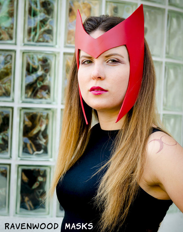 Spellbound - leather headdress costume - product images  of