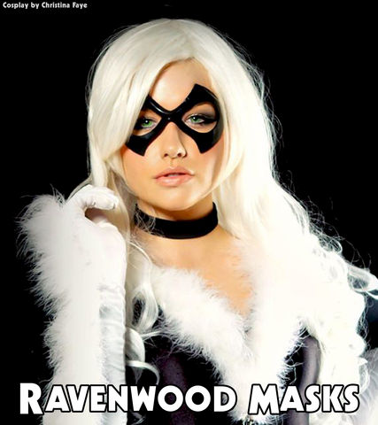 Excitement,-,leather,mask,leather mask, masquerade, cosplay, black cat, superhero costume, super villain costume