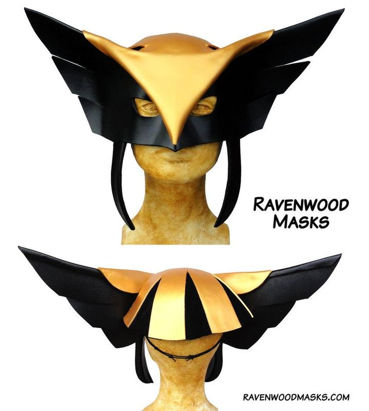 Flight - cosplay leather mask - product images  of