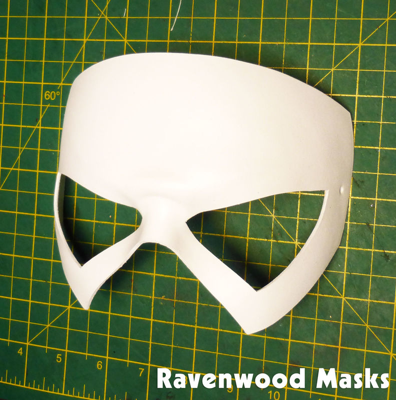 Shock - leather superhero mask - product images  of