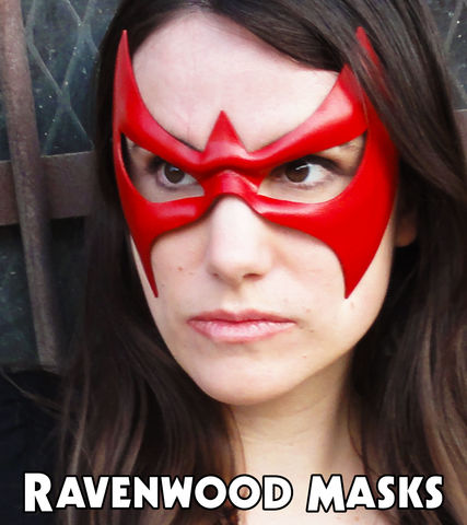 Nightfall,-,leather,superhero,mask,masquerade mask, leather mask, cosplay, robin, nightwing, costume, superhero, comic book, costume ball, men, women