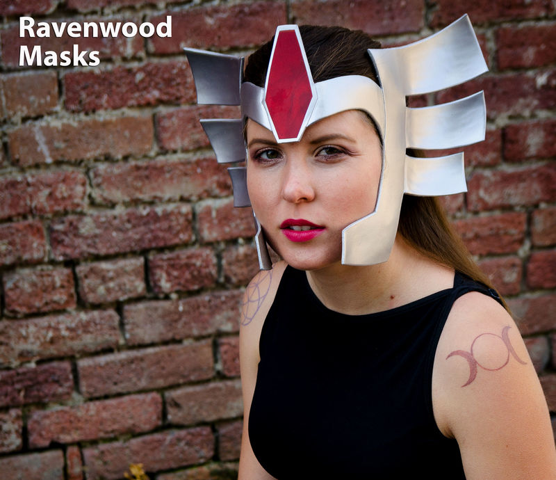 Shield - leather cosplay headdress - product images  of