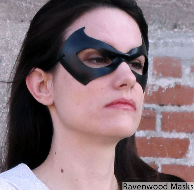 Justice - leather superhero mask - product images  of