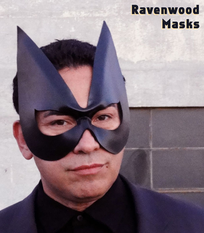 Honor - leather cosplay Superhero mask - product images  of