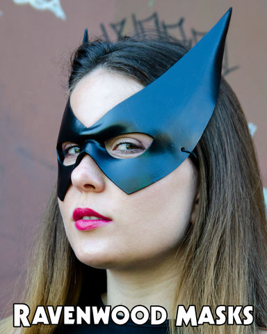 Sharp,-,leather,mask,leather mask, catwoman, batgirl, black bat, Selena Kyle, bat girl, Barbara Gordon, cosplay, halloween, mardi gras, masquerade masks for women, fancy dress party, masquerade ball