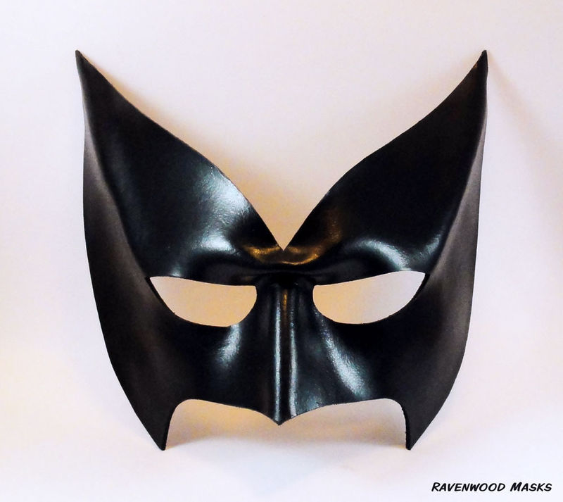 Nocturnal - leather cosplay mask - product images  of
