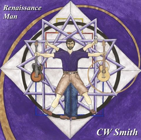 CW,Smith:,Renaissance,Man,CD,acoustic rock guitar songwriter iowa el rio cw smith