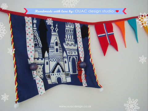 Royal,Blue,Castle,Bunting,,Celebration,Bunting.,Property,Declare.,Free,UK,Delivery,bunting, castle, celebration, decoration, flag, kids, home, homewears, homeware, blue, jubilee, british, britain, Olympic