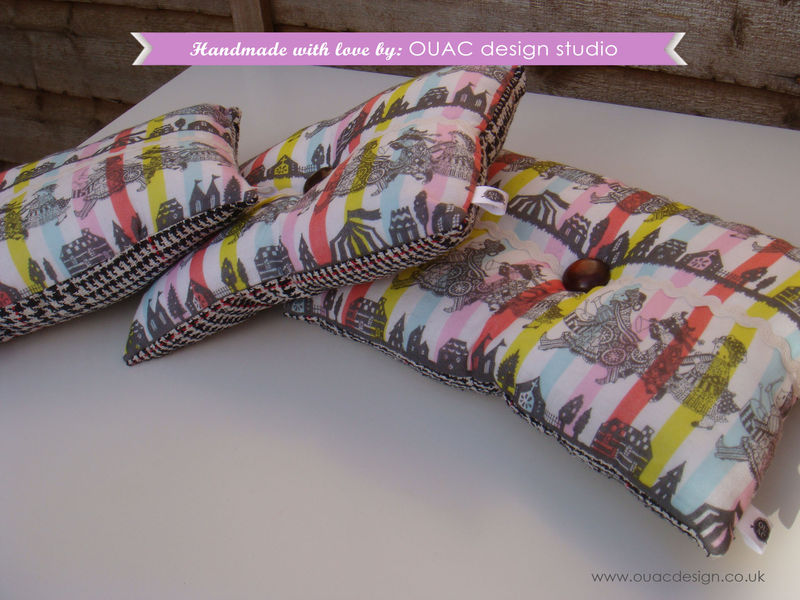 Luxury Celebration Pillow/Cushion Set (x 3), FREE UK Delivery - product images  of