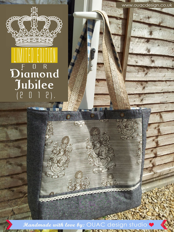 LIMITED EDITION - The Queen's Diamond Jubilee Royal Tote Bag. FREE UK Delivery - product images  of