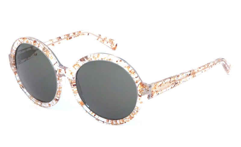 Sweet Olive Circular Frame Sunglasses - product images  of