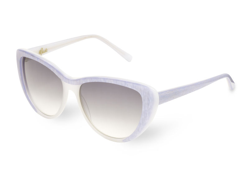 Pearl Sparkle Cateye Frame Sunglasses - product images  of