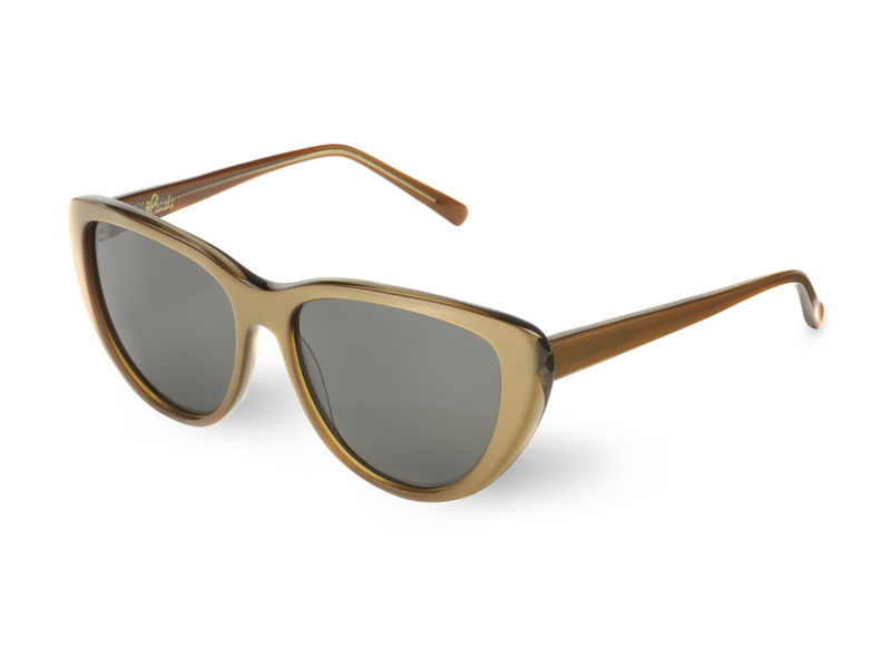 Gold Cateye Frame Sunglasses - product images  of