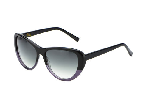 BLACK MAUVE Cateye Frame Sunglasses (1 left) - product images  of
