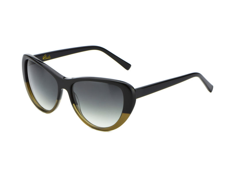 Black Olive Cateye Frame Sunglasses  (1 left) - product images  of